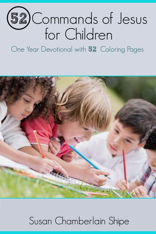 How to teach your children the Bible and grow them in the Word. Featuring 52 Commands of Jesus for Children; one year devotional with 52 coloring pages.