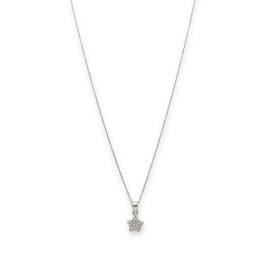 collana argento 925 mini stella zirconata