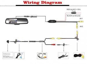 Tft Lcd Monitor Reversing Camera Wiring Diagram  Somurich