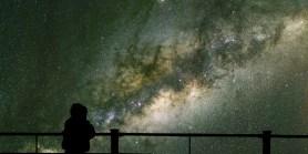 space looking