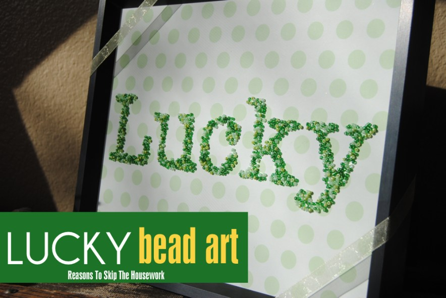 Lucky Word Frame