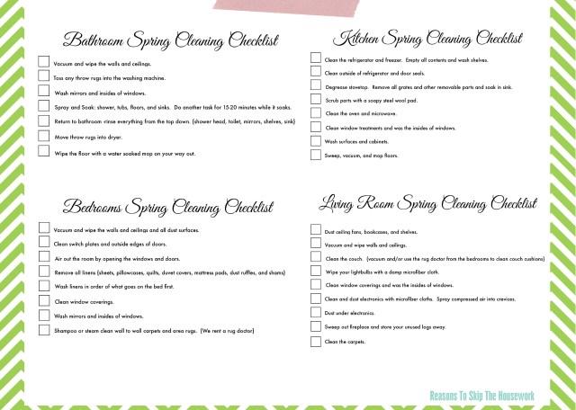 green checklist