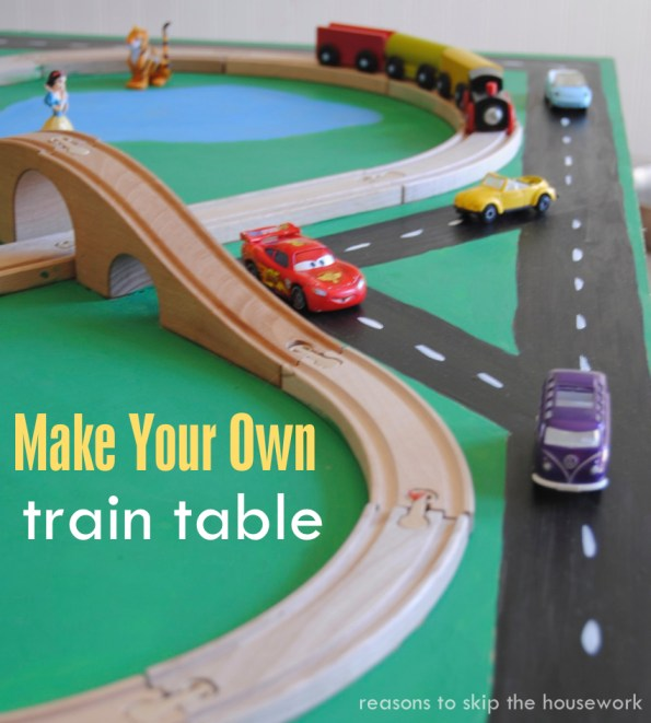 train table, kid toys, kid play tables