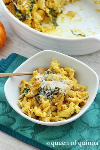 Pumpkin-Baked-Pasta-Queen-of-Quinoa-2