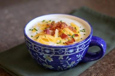 baked potato soup - 2-2