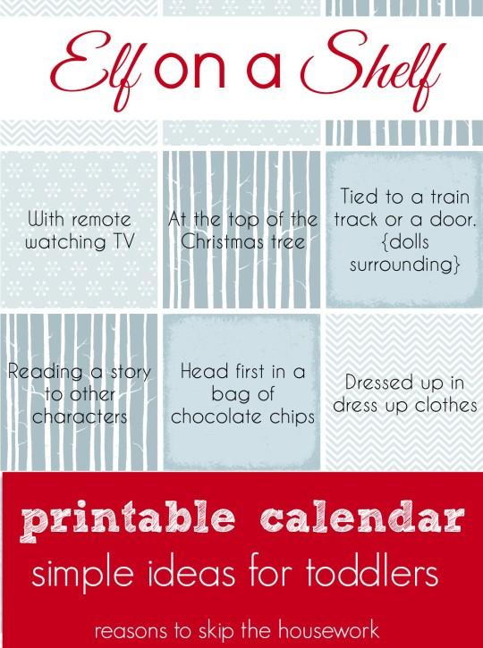 elf calendar