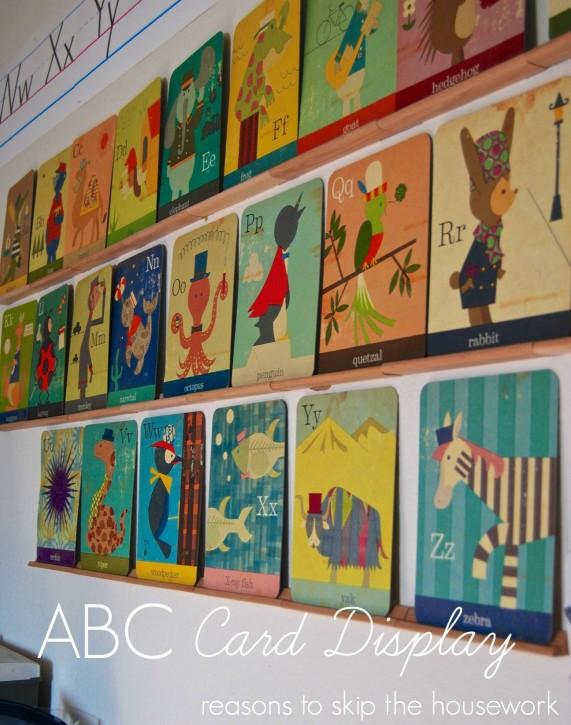 ABC Card Display