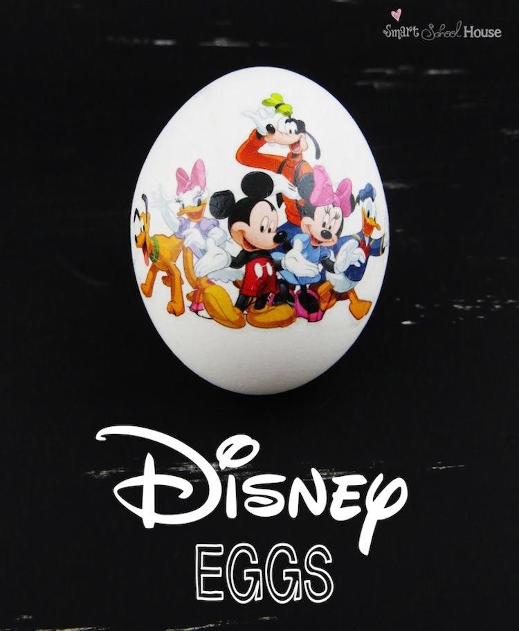 Disney Tattoo Eggs