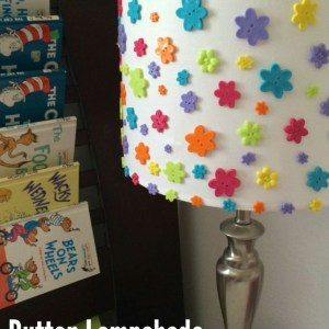 button-lampshade