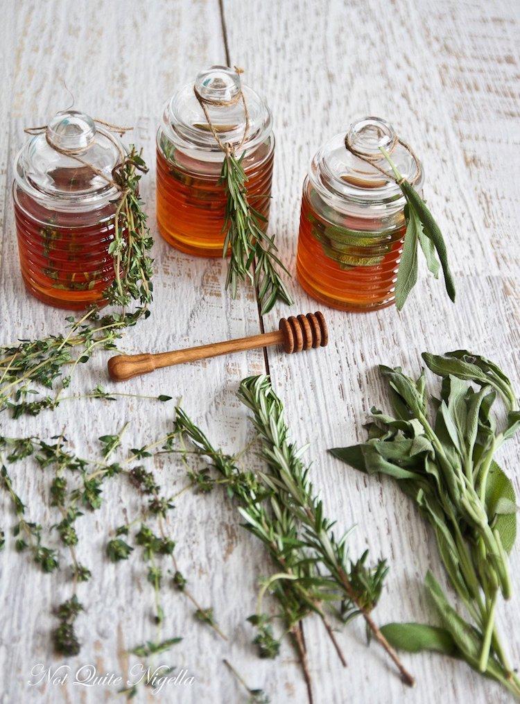 Herb Honeys