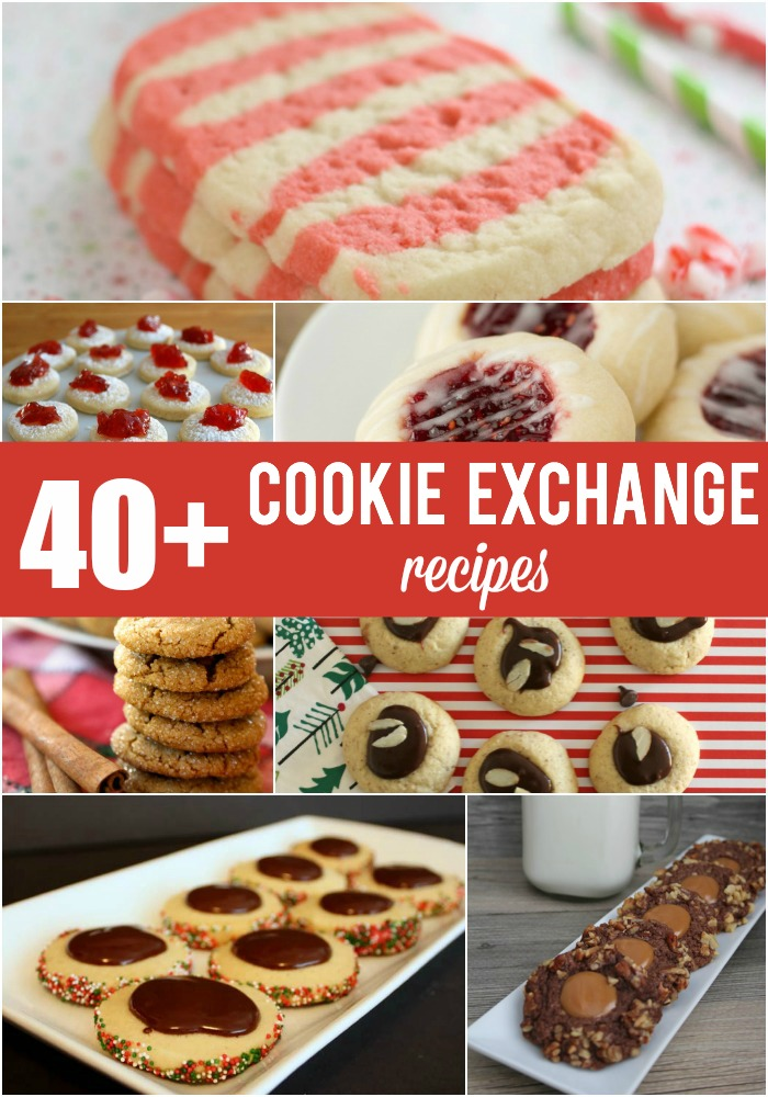 40 Cookie Exchange Recipes And Christmas Thumbprint