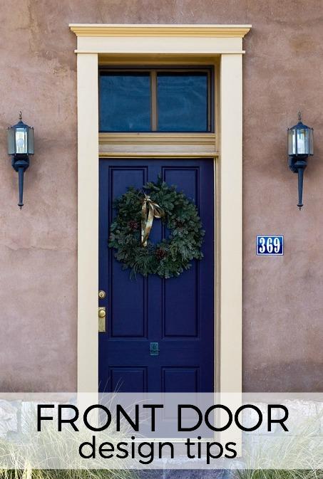 front door design tips