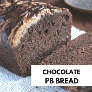 CHOCOLATE PB BREAD