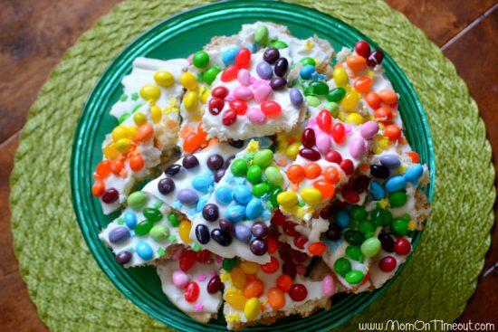 Plate-of-rainbow-sugar-cookie-bark