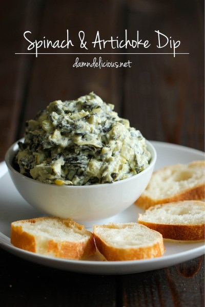 Crock Pot Recipes Spinach and Artichoke Dip