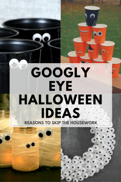 Halloween is such a fun holiday, and these 10 Googly Eye Crafts will help get you in the spirit of the season and be ready to craft up some spook!