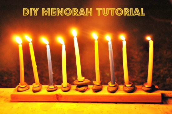 DIY Menorah: Make your own Hanukkah crafts or get the whole family involved with one of these 10 Hanukkah Crafts