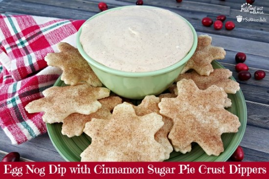 Egg NOg Dip: When you head out to your parties, make sure you have some great Christmas Party Food with you!