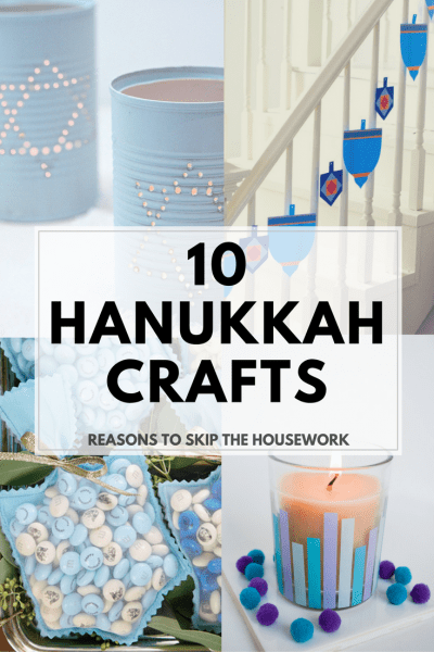 Make your own Hanukkah crafts or get the whole family involved with one of these 10 Hanukkah Crafts
