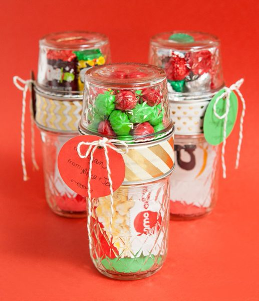Double Treat Jar: Gift Cards can sometimes be a boring thing to give but a great thing to receive. So why not spice up the way you give them!