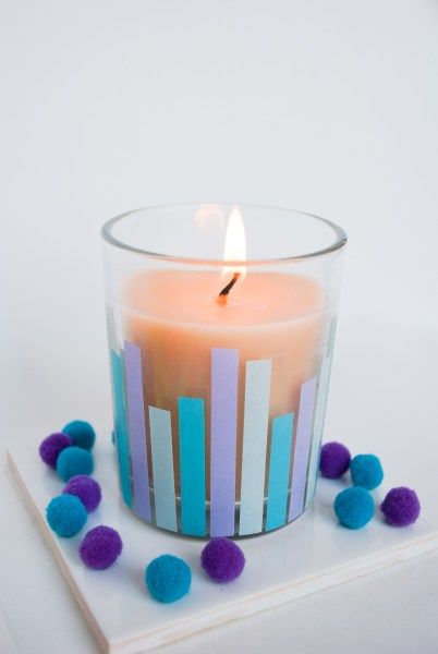Hanukkah Candle: Make your own Hanukkah crafts or get the whole family involved with one of these 10 Hanukkah Crafts