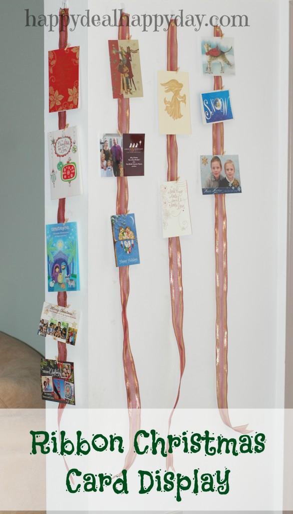 ribbon-christmas-card-display