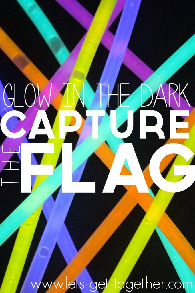 Group Party Games: Glow in the Dark Capture the Flag