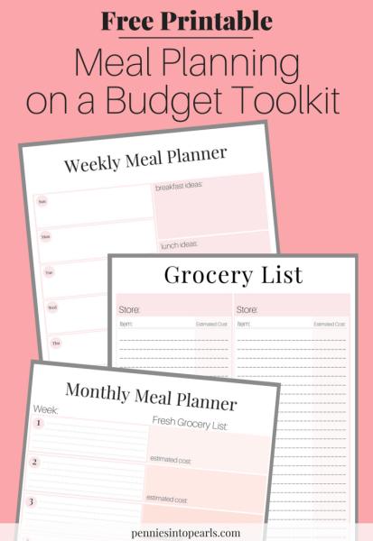 10 Budget Printables