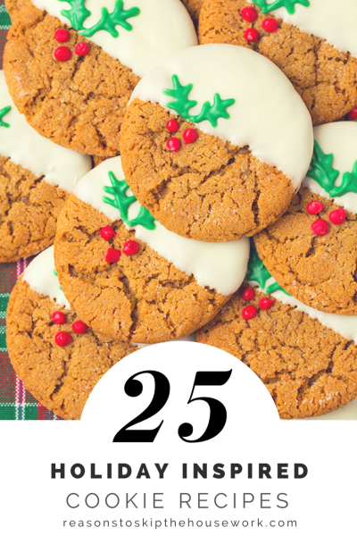 Holiday Cookie Recipes: When you're headed to a party or having a cookie exchange, you'll need one of these holiday cookie recipes!