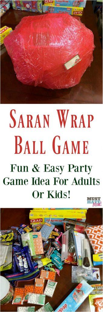 Group Party Games: Saran Wrap Ball Game
