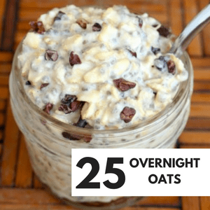 OVERNIGHT OATS RECIPES