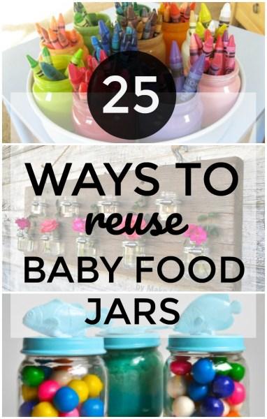 Creative Ways To Reuse Baby Food Jars