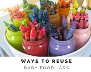 Reuse Baby Food Jars