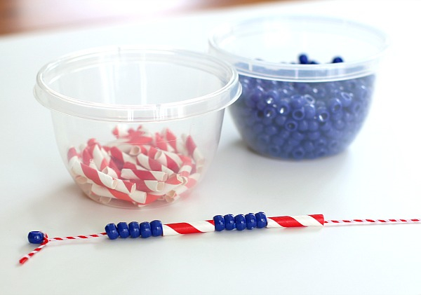 Fourth of July Crafts for Kids: Necklaces