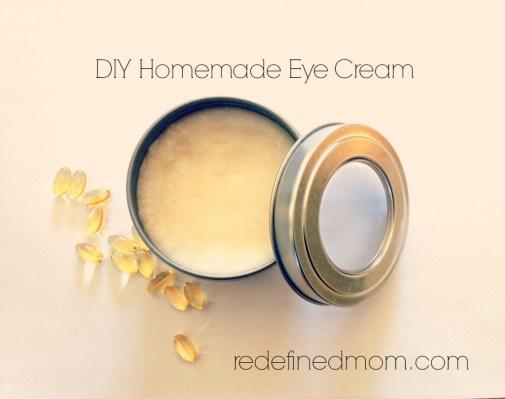 Ways To Use Coconut Oil - Anti Aging Eye Cream