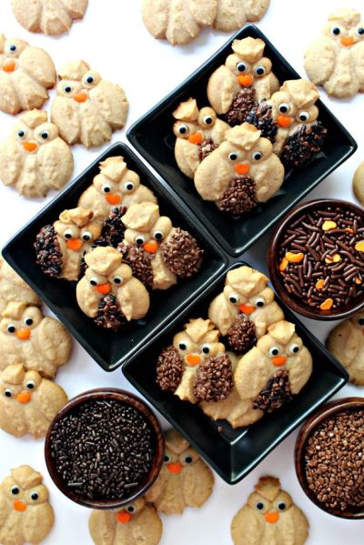 http://themondaybox.com/2017/09/cinnamon-spritz-owl-cookies/
