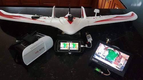 Ron's FPV Glider