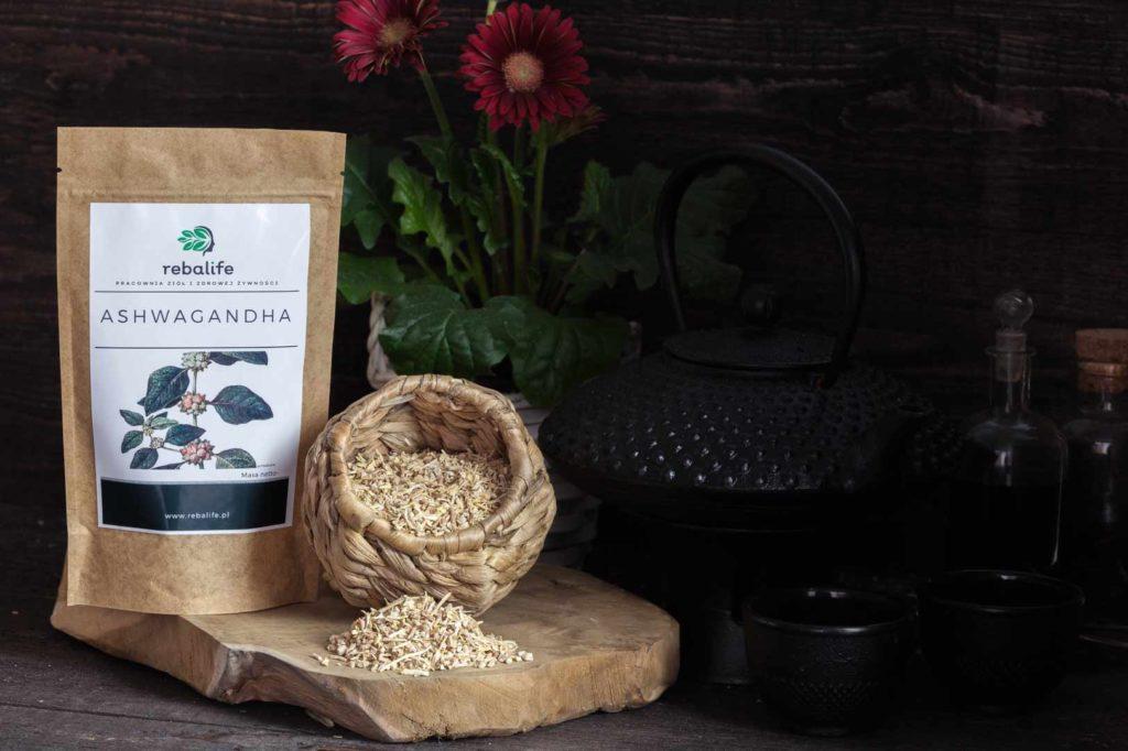 Ashwagandha-Karta-produktu-Pracownia-ziół-i-zdrowej-żywności-Rebalife
