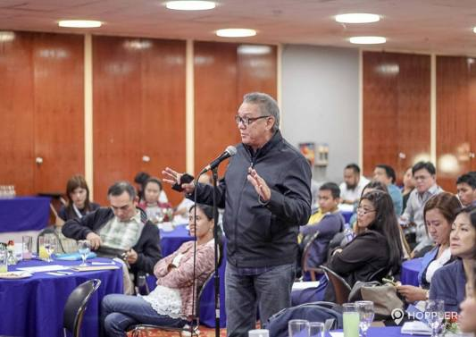 """Hoppler invited REBAP Makati officers to attend a seminar on """"Paradigm Shifts in the Real Estate Business"""" last July 26, 2016 at AIM Conference Center Makati City."""