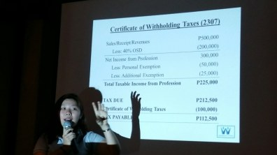 REBAP Makati Membership Meeting RMMM last March 22, 2017 at Astoria Greenbelt Makati. CRB Winnie De Jesus discussed Practical Guide in Filing Taxes. Business Partners BPI and Ortigas & Company presented business opportunities to members.