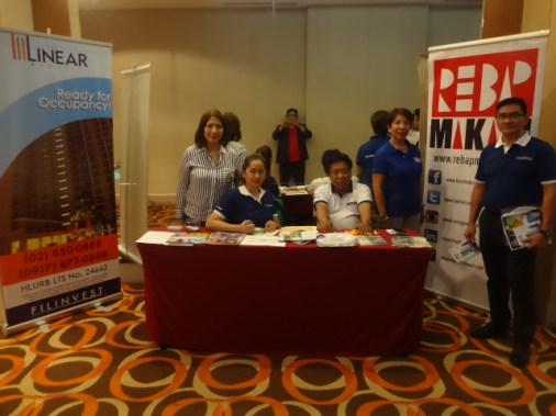 Last April 25, 2017, REBAP members participated at a Filinvest sponsored event at Crowne Plaza Hotel, Ortigas, Pasig City.