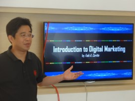 Filinvest conducted Digital Marketing Training (DMT) for Real Estate Brokers upon completion of accreditation requirements last April 28, 2017 at 100 West Makati showroom.