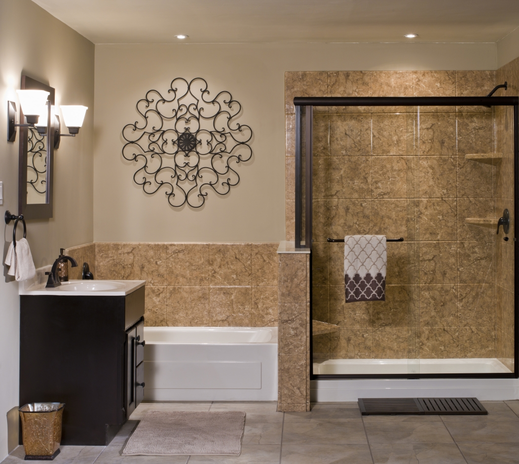 Venetian Acrylic Stone Bathroom Wall Surround Re Bath