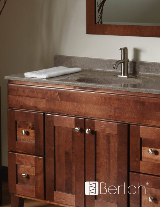 Bertch cabinet manufacturing for Bathroom cabinetry manufacturers