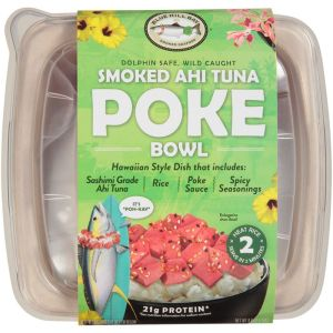 Blue Hill Bay Smoked Ahi Tuna Poke Bowl