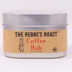The Rebbe's Roast Coffee Rub