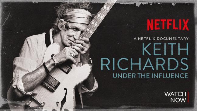 FILM: 'Keith Richards: Under the Influence' | REBEAT Magazine
