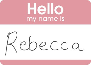 hello my name is rebecca