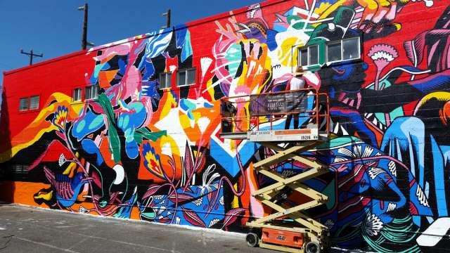 Grafitti Tour, New York