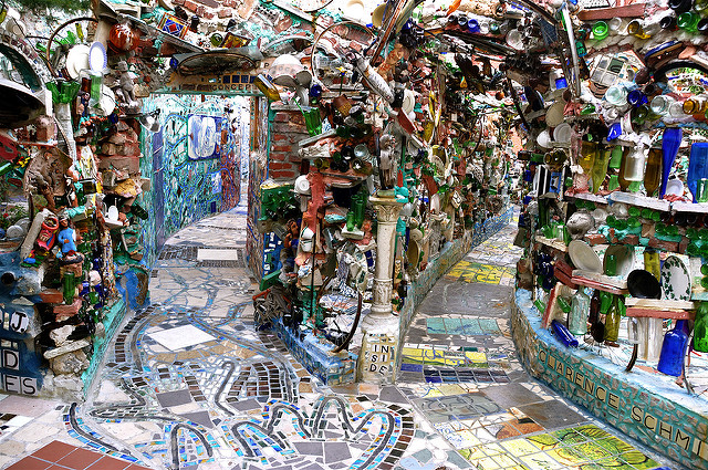 Magic gardens Philly